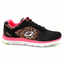 Tênis Feminino Skechers Flex Appeal Serengeti 11878 | Zariff