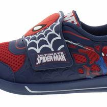 Tenis Homem Aranha Spiderman Grendene Infantil Tam 25 Ao 36