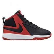 Tenis Nike Infantil Cano Alto Team Hustle 7 Tam 27 Ao 33