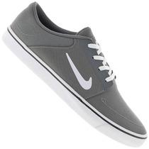 Tênis Nike Masculino Para Skate Portmore Cinza Original