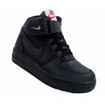 Tênis Infantil Botinha Nike Air Force Masculino E Feminino