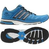 Tenis Adidas Adistar Boost M Azul Running
