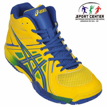 Tenis Asics Gel Task Mt Voleibol - Original - Nf - Garantia