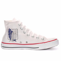 Tênis Attack On Titan All Star Converse Personalizado