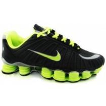 Tenís Nike Shox Tlx 12 Molas Azul Royal 100% Original