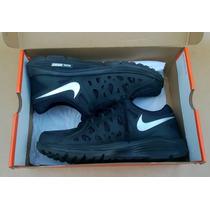 Tênis 42 Nike Dual Fusion Run 2 Msl Preto - Usado Só 1 Vez