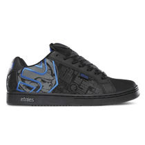 Tenis Etnies Metal Mulisha Fader (black Charcoal Blue)
