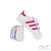 Tênis Adidas Superstar Foundation Infantil - Futfanatics