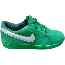 Tenis Nike Masculino Camurça Sb Low Skate Verde