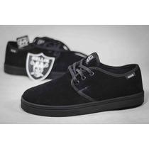 Tênis Hocks Del Mar Lite Black Premium Sneaker Suede Skate