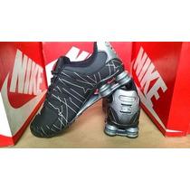 Tenis Nike Shox Quatro Molas Junior Nz , R4 Frete Gratis
