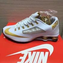 Tênis Nike Shox Superfly R4 Preto E Branco