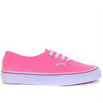 Tênis Vans Authentic Pop Neon Pink Vn-0w4ndvi