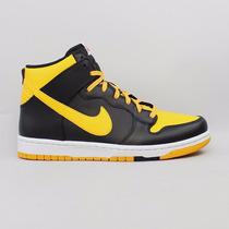 Tênis Nike Dunk Confort Cmft Basquete Cano Alto Preto Amarel