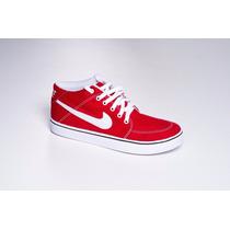 Tênis Nike Sb Botinha Vermelha Original Imperdivel