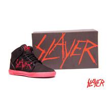 Slayer Tênis Cano Alto Feminino Frete Grátis