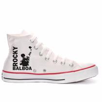 Tênis Rocky Balboa Filme Cult All Star Converse Cano Alto