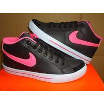 Botinha Nike Feminina/rosa/lilas/preto Air Force Sk8 Skate ¿