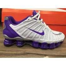 Tenis Nike Shox 12 Molas Branco E Roxo Nº34 Ao 39 Original