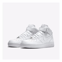 Nike Air Force 1 Bota Cano Alto Branca Swag Sneakers + Frete