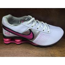 Tenis Nike Shox 4 Molas Feminino Imperdivel Branco