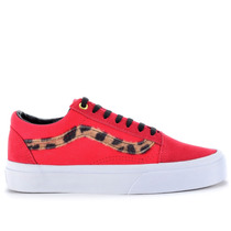 Tênis Vans Old Skool Side Stripe Red Leopard Vn-0zdffl3