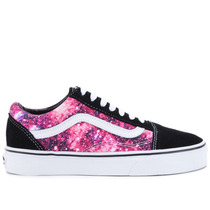 Tênis Vans Old Skool Cosmic Cloud Black True White Vn-01r1gg