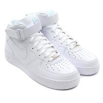 Nike Air Force Cano Alto Mid One 1 White Skate Toda Brancani