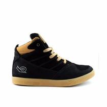 Tênis Skate Land Feet Cano Alto - Botinha Skatista Original