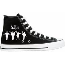 Tênis The Beatles All Star Converse Cano Alto Lindissímo !!!