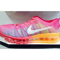 Tênis Nike Air Max 2014 Feminino Rosa 100% Original