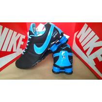 Tenis Nike Shox Quatro Mola Junior Nz R4 Envio Imediato