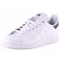 Tênis Adidas Originals Sneaker Stan Smith Branco Pretoverde