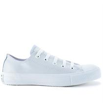Tênis Converse All Star Ct As Monochrome Leather Ox Branco C