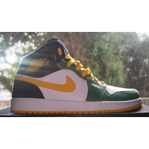 Nike Air Jordan 1 Retro Seattle Supersonics Tam. 43br - 11us