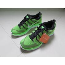 Tenis Nike Flyknit Lunar One Nº 42 Verde Shox Boost Yeezy