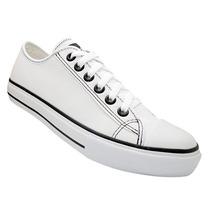 Tênis Converse All Star Couro Preto E Branco