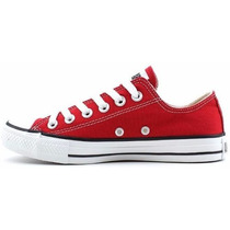 Tênis Converse All-star Classico Preto - Vermelho