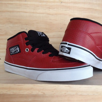 Vans Half Cab Snake / Leather / In Red