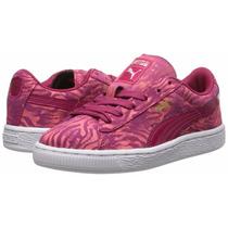 Puma Suede Oncinha Print N33 34 - Sneaker Feminino Farm