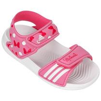 Sandália Disney Minnie Adidas Infantil B40820 Original
