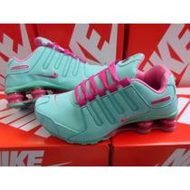 Tênis Nike Shox Feminino 4 Molas Confortável E Super Lindo
