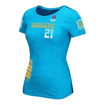 Camisa Reebok Crossfit Feminina Azul (av8771)