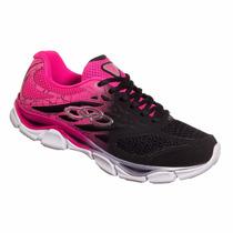 Tenis Feminino Olympikus Daily Preto/rosa Snob Calçados