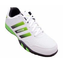 Tênis Sapatenis Calçado Sapato Adidas F500 Branco E Verde