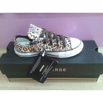Tênis Converse All Star Ct As Print Leopard Ox Branco