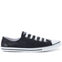 Tênis Converse All Star Ct As Dainty Leather Ox Preto Ce4050