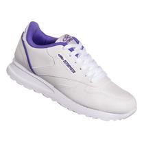 Tênis Olympikus Jogging Branco/lilás