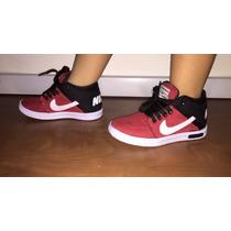 Queima Total Tenis Nike Botinha Infantil Masculino /feminino