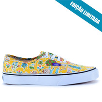 Tênis Vans Authentic Liberty Wonderland True White Vn-0zukfh
